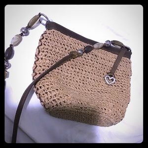 Brighton straw purse